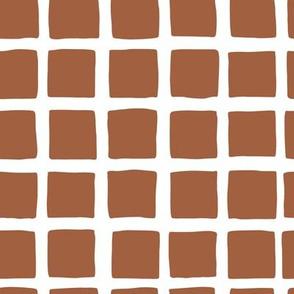 Modern Blocks Brown