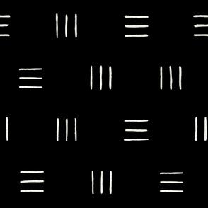 Line Groups Black Background