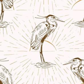 Long-legged Heron