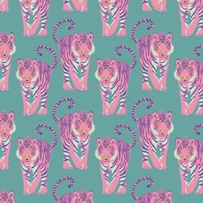 pink tiger walk