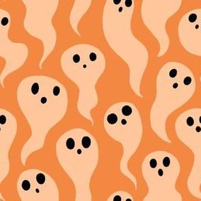 Orange Ghosts