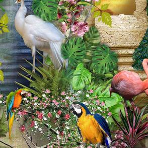 Birds of Paradise Large print