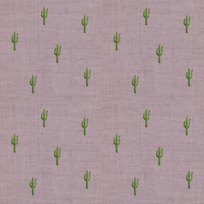 Saguaro Bird in Mauve
