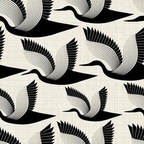 Storks_on_linen