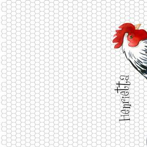 Spoonflower Special Edition Chicken TeaTowel