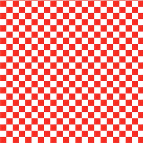Red Check, Medium Size