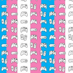 Game Controllers Trans Pride