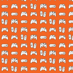 Game Controllers on Orange
