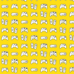 Game Controllers on Yellow