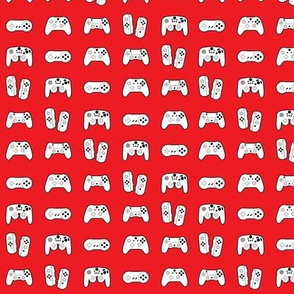 Game Controllers on Red