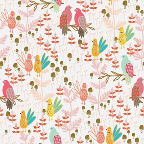 Birds + Mushrooms - 2