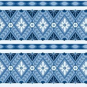 Indigo Lane - Diamond borders