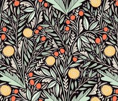 Dandelion, rosehips, and eucalyptus