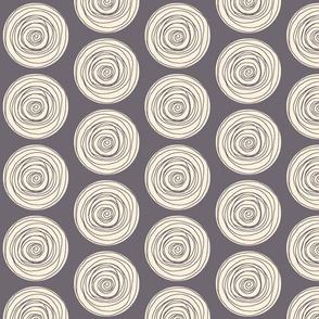 Doodle Dots Gray