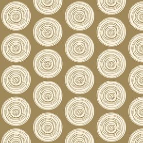 Doodle Dots Olive