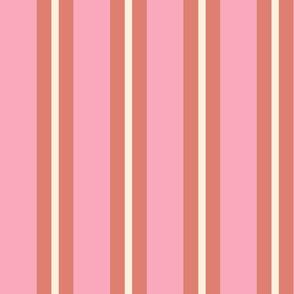 Doodle Flower Matching Stripes 2