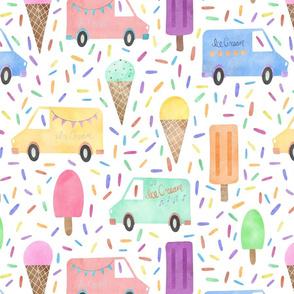 ice cream truck 16x16