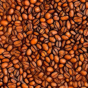Coffee Beans Flat