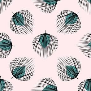 Art Deco Palm Fans