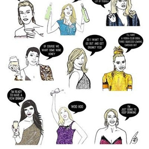 Housewives Drinking