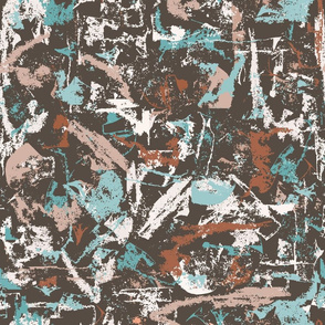 Grungy shabby abstract pattern
