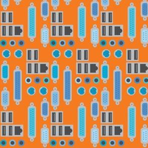 orange plugs