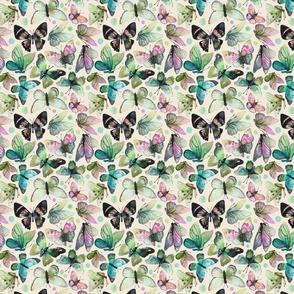 watercolor butterflies  | mini