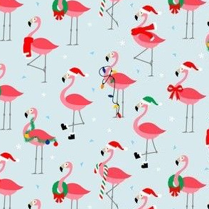 Flamingo Christmas Fun