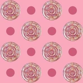 Doodle Dots Pink