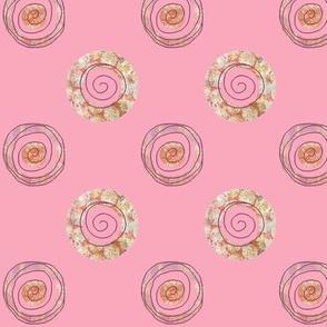 Doodle Flower Spirals