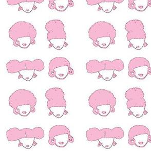 AfroGURLS-Pink
