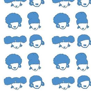 AfroGURLS-Blue