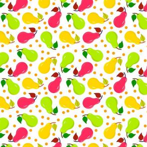 Sweet fruit  pears
