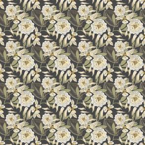 Bella Nora roses trailing pattern