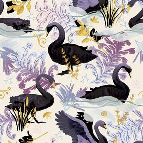 Black swans | off white