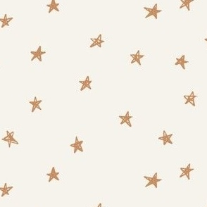 gold christmas stars on bone festive holidays