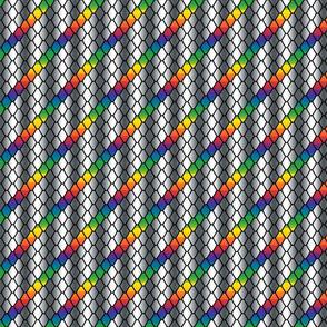 Dark Rainbow Tiny Dragon Scales