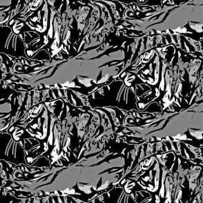 Large film noir Fierce Tigers