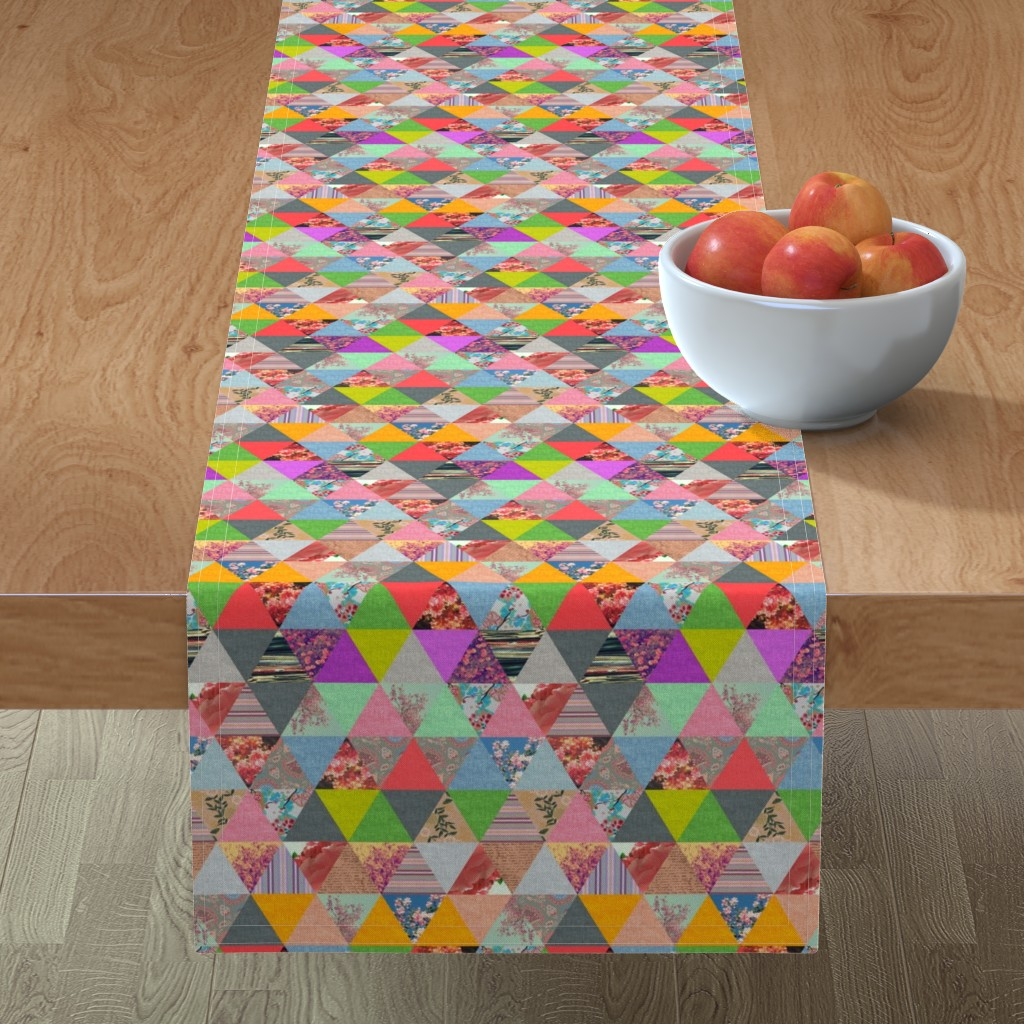 Minorca Table Runner featuring Lost in â–² by biancagreen