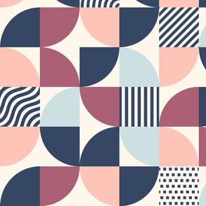 Scandi shapes - pastel