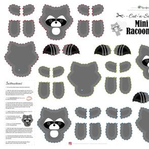 Mini Racoon Cut-'n-Sew / FQ