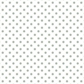 Polka Dots (White, Green aab5a7)