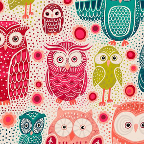 Owl Eyes Large Scale