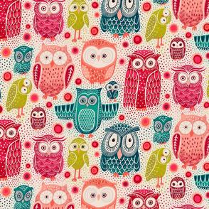 Owl Eyes Medium