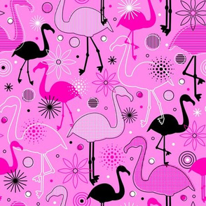Flamingo Flock (Pink)