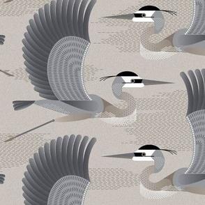 Heron - gray