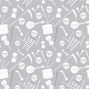 Bones Band Grey