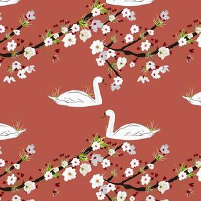 Sakura Swan