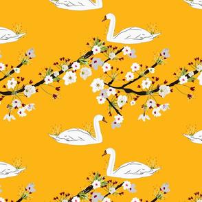 Sakura Swan -  Gold