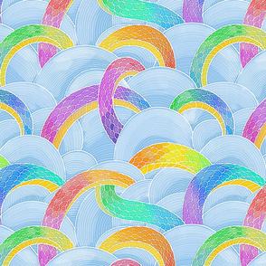Rainbow Sky Dragon